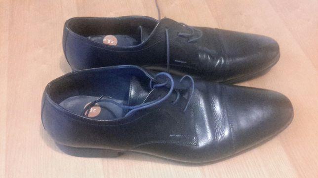 Туфли кожаные мужские размер 45  бренд Andrea Rossi