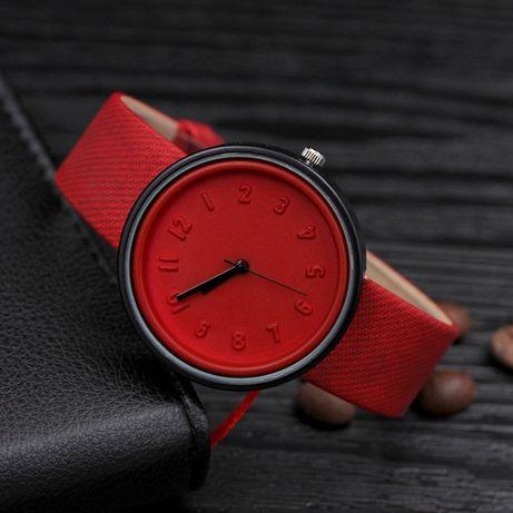 Хит!!! Женские модные часы кожаный ремешок (Разные цвета)
