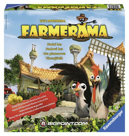 FARMERAMA gra planszowa nowa bez folii