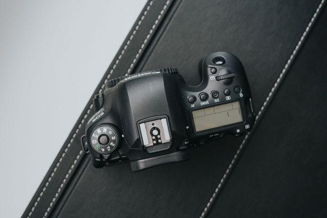 Canon 6D II + 85mm + battery grip (niski przebieg)