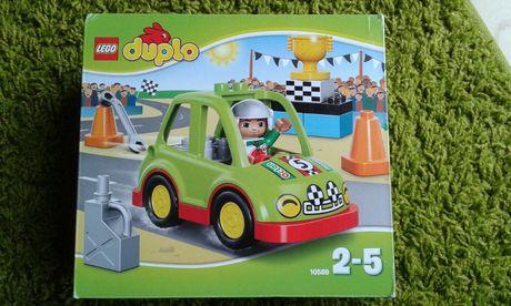 Klocki JAK NOWE Lego Duplo 10589 Auto wyścigowe, Autko, Wyścigówka