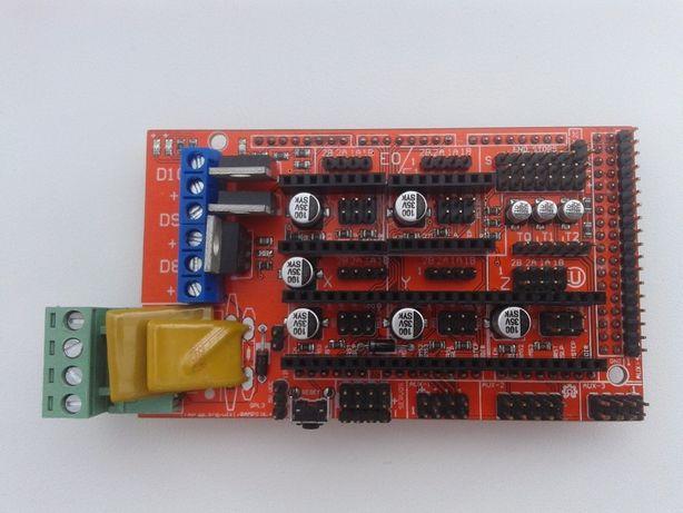 Модуль RAMPS 1.4 плата расширение Arduino Mega для 3D принтера, ЧПУ