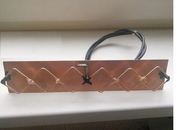 Направленная антенна WI-FI би-квадрат пушка, тройной biquad