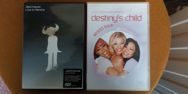 2 concertos em DVD Jamiroquai/Destinys Child - cada