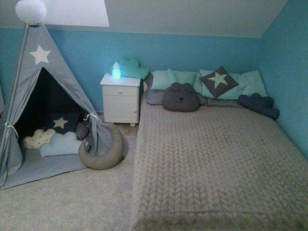 Tipi poduszki maty pompony
