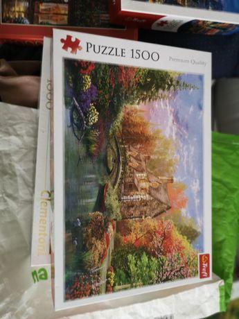 Puzzle 1500 elementów