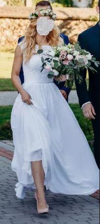 Suknia ślubna rozmiar 34-36.