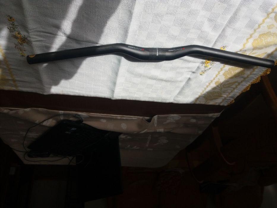 Guiador btt Ritchey Superlogic 10D flat Carbon 31,8X620mm