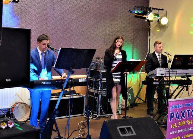 Oprawa muzyczna,Zespół muzyczny, weselny PAXTON na wesele