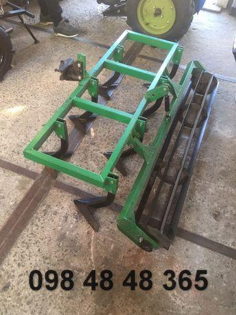 Культиватор с барабаном на 7 лап с шириной 1.5м для мини трактора міні