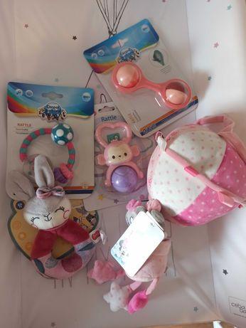 Nowe zabawki niemowlęce dla dziewczynki
