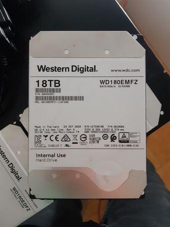 """2x HDD 18TB WD Novos 3,5"""" SATA III"""