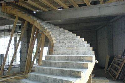 Лестницы монолитные,межэтажные. Профессиональный проект и монтаж.