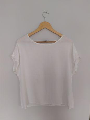 Koszulka elegancka biała bluzka Atmosphere stan idealny
