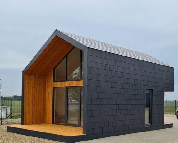 Drewniany dom A.B.Z. 35 m2