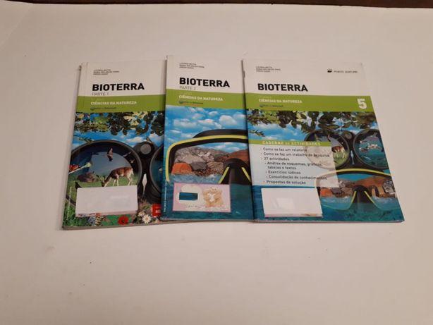Manuais Ciências Naturais 5 ano || Bioterra || Portes GRÁTIS