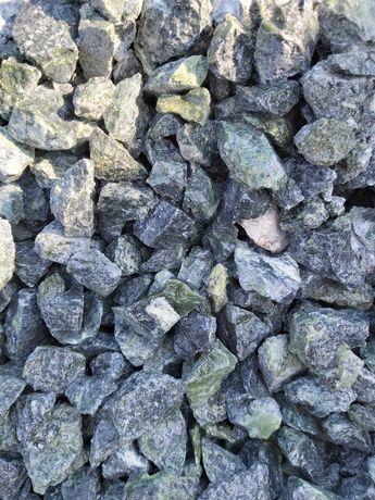 Grys Green Serpentynit 16-22mm , kruszywa, kamienie ozdobne, otoczaki