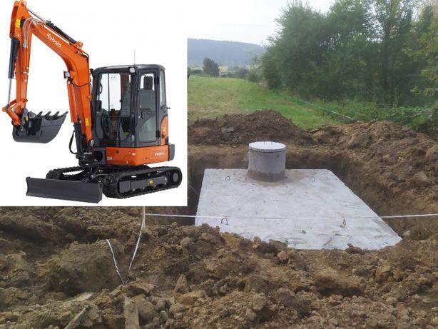 Szamba/Szambo betonowe Zbiorniki/Zbiornik betonowy Końskie Brody Dęba