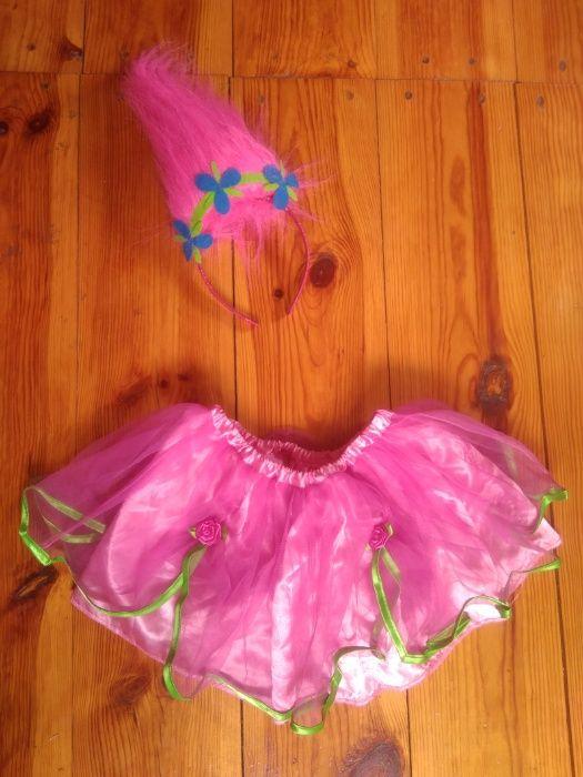 Маскарадный наряд, костюм Розочки, Мачок с мультика Тролли 2-4 года Ирпень - изображение 1