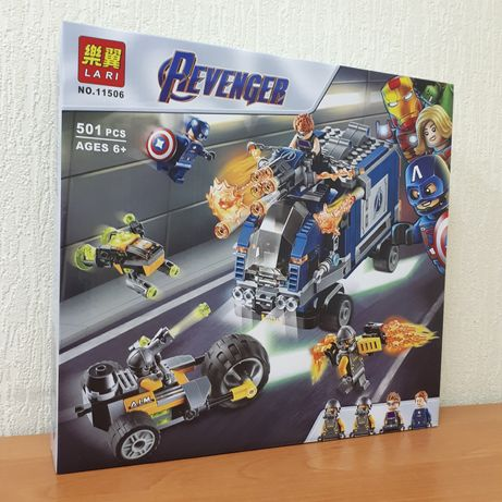 Лего Мстители Марвел Конструктор Капитан Америка Lari 11506 501шт