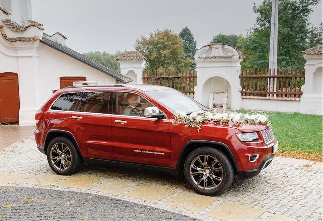 Auto do ślubu Jeep Grand Cherokee województwo lubelskie i okolice
