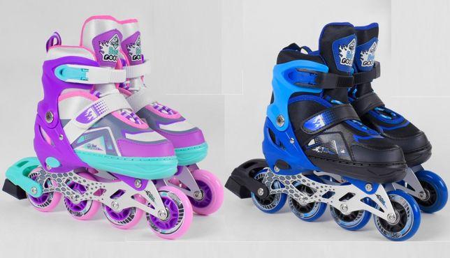 Детские роликовые коньки, ролики Best Roller, размер 30-37