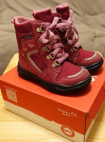 Kozaki śniegowce trzewiki buty SUPERFIT r.25 (emel, ecco)