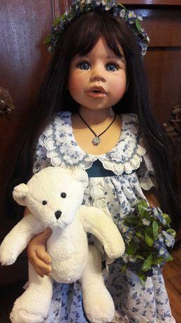 Lalka kolekcjonerska Bernardette. Monika Levenig.