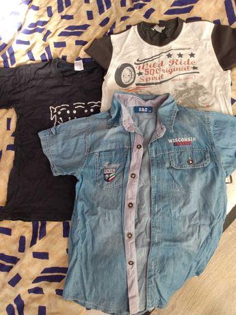 T-shirt, bluzki, koszula chłopięca 8 lat