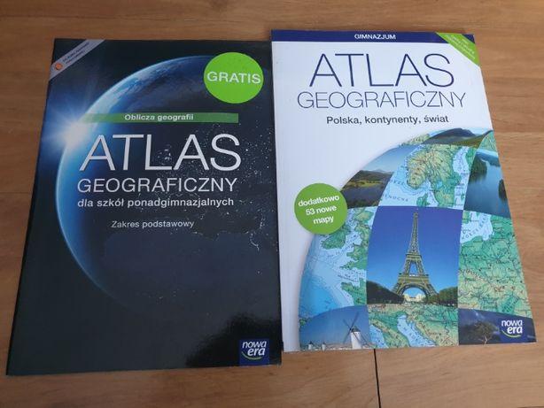 Atlas geograficzny Nowa Era - gimnazjum i szkoły ponadgimnazjalne