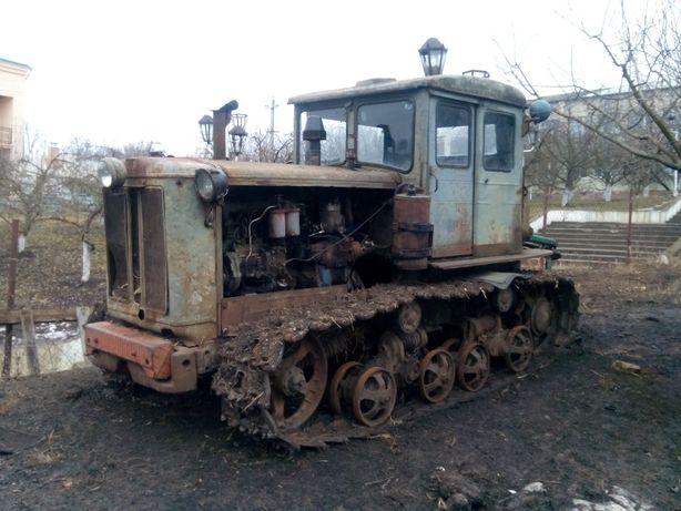 Трактор Т-74 по запчастинах