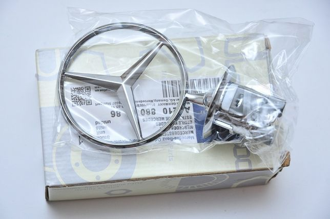 Эмблема прицел на капот Mercedes w124/w210/w202/w203/w204/w220/w211