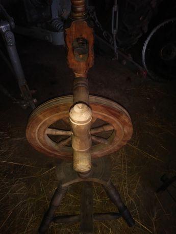 stary kołowrotek weteran
