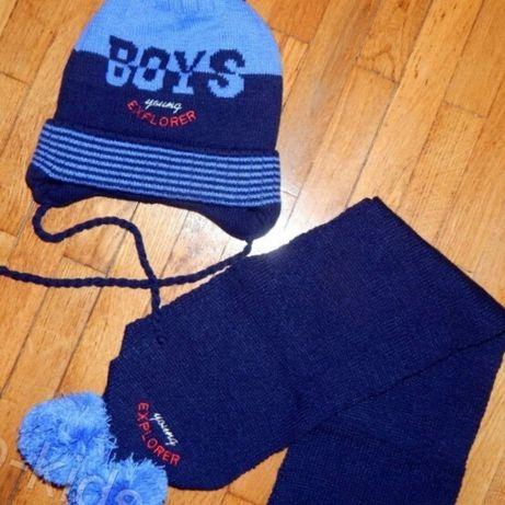 Зимова шапочка і шалик