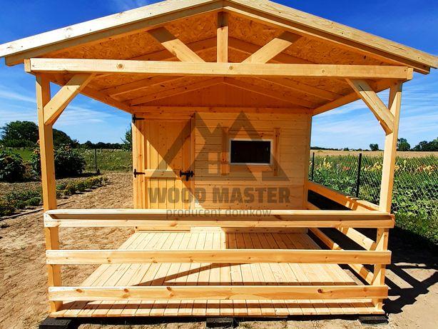 Domek drewniany, letniskowy, na działkę, całoroczny