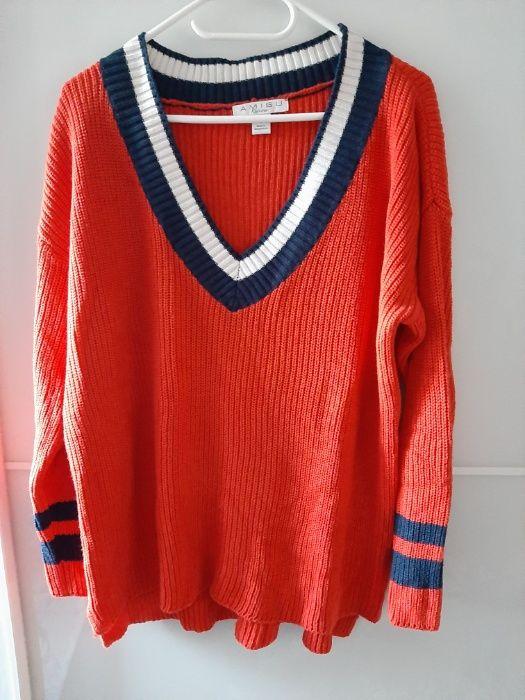 sweter oldscholowy Amisu - New Yorker, 40 Ząbki - image 1