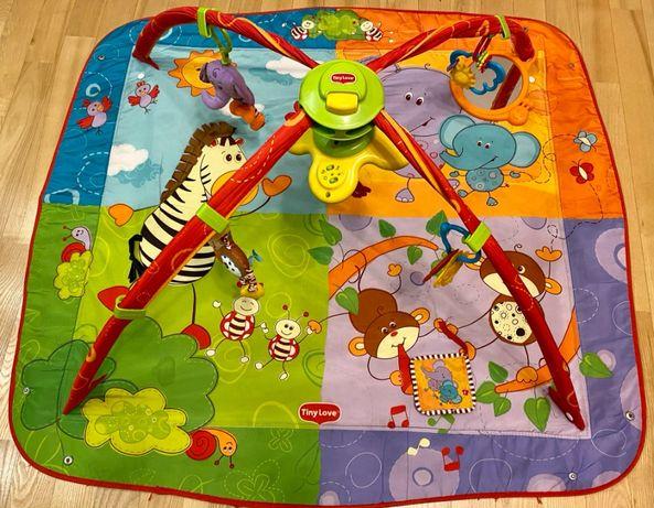 Mata Tiny Love -edukacyjny plac zabaw dla niemowlaka
