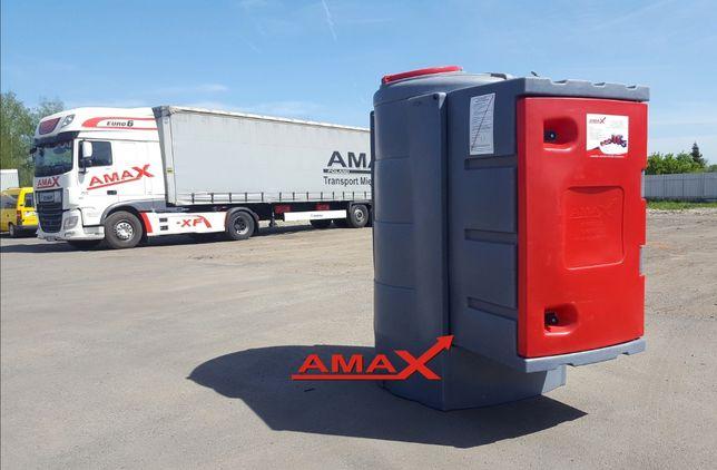 Zbiornik dwupłaszczowy 1600 litrów na olej napędowy raty AMAX 1500