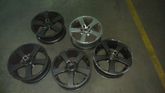 Vendo 5 Jantes Mille Miglia 17 EV-S 5x120 (BMW) ET40