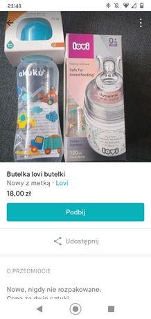 Butelki dla niemowląt