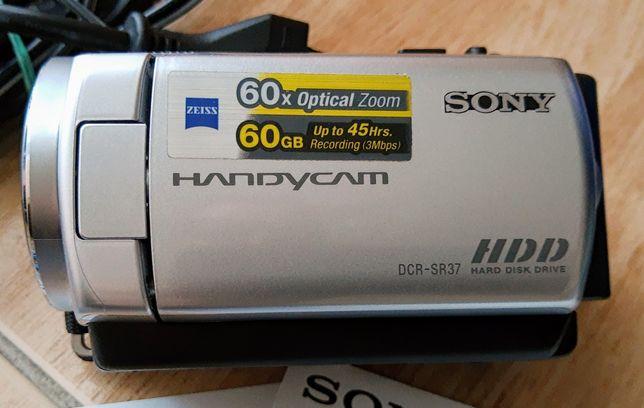 Okazja!Kamera cyfrowa Sony DCR-SR 37E z dyskiem 60 GB