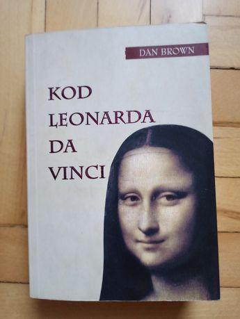 Kod Leonarda da Vinci, Dan Brown książka