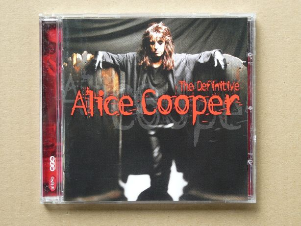 cd Alice Cooper - The Definitive 2001 wyd.EU tłocz.Germany
