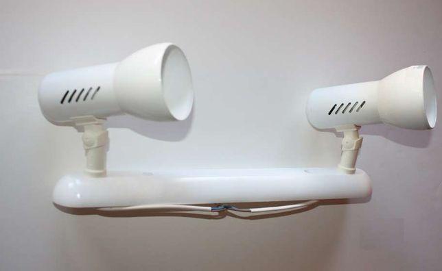 Suporte 2 lâmpadas