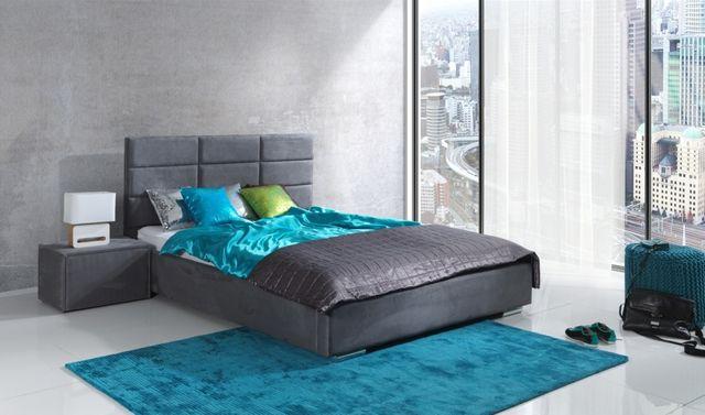Tapicerowane łóżko VINCENT 160 x 200 + materac + stelaż!!! PRODUCENT