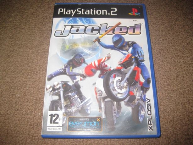 "Jogo ""Jacked"" PS2/Completo!"
