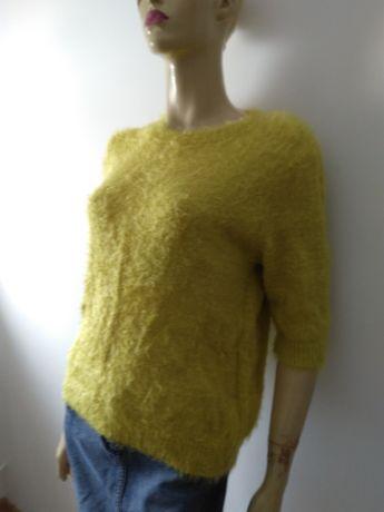 Sweterek bluzka limonka