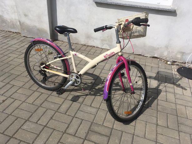 """Rower B TWIN dziewczęcy 24 """""""