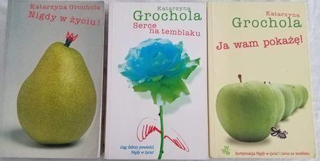 Katarzyna Grochola nigdy w zyciu, ja wam pokaże, serce na temblaku