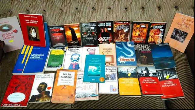VENDIDOS EM SEPARADO - Livros Baratos - Entrega IMEDIATA Lotes 19/20PS